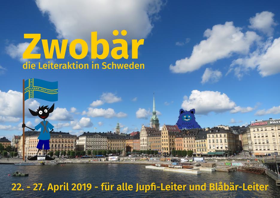 Zwobär - die Leiteraktion in Schweden