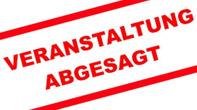 Absage der Ausbildungsveranstaltungen Notfallmanagement, 1. Hilfe und Lagertechniken!
