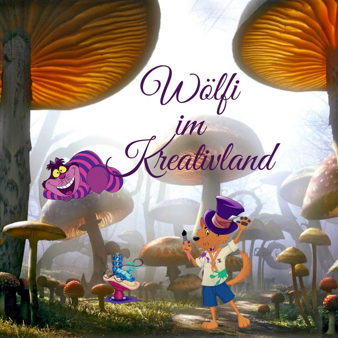 Wö Leiterwochenende: Wölfi im Kreativland